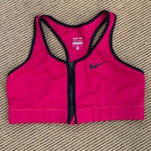 Nike Pro Magenta Sports Bra